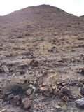 Desierto estéril de Judean de la ladera, Israel Foto de archivo