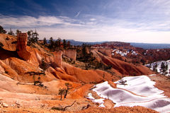 Desierto frío Imagen de archivo