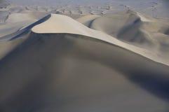 Desierto Gobi, dunas de arena fotografía de archivo libre de regalías
