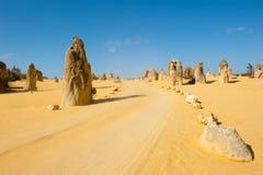 Desierto interior Australia de los pináculos Imagenes de archivo