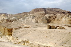 Desierto Israel Foto de archivo