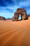 Desierto libio Fotos de archivo