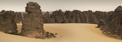 Desierto libio fotografía de archivo libre de regalías