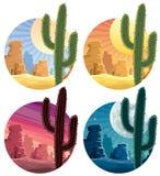 Desierto mexicano stock de ilustración