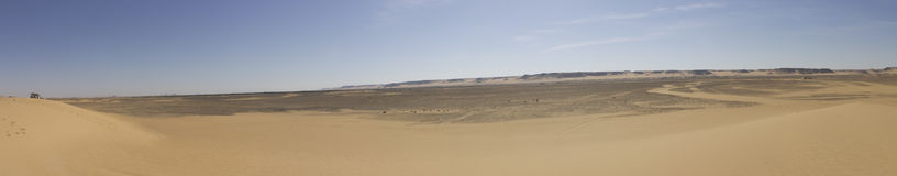Desierto negro Imagen de archivo libre de regalías