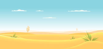 Desierto occidental profundo ilustración del vector
