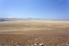 Desierto - parque nacional de Reserva National de Paracas en AIC Perú, Suramérica Foto de archivo libre de regalías