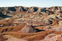 Desierto pintado Foto de archivo libre de regalías