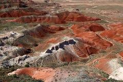 Desierto pintado Fotografía de archivo libre de regalías