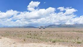 Desierto Road Imagenes de archivo
