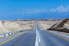 Desierto Road Israel Imagen de archivo
