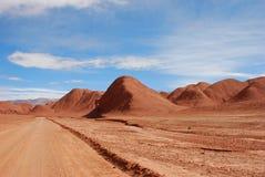 Desierto rojo Fotografía de archivo libre de regalías