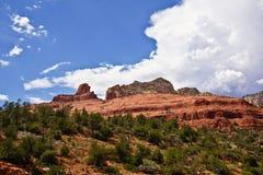 Desierto rojo de la roca en Arizona imagen de archivo