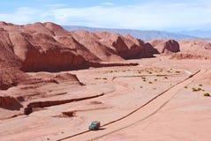 Desierto rojo y Caripan Imagen de archivo