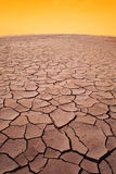 Desierto seco imagenes de archivo