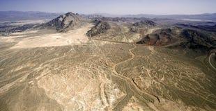 Desierto seco sin vida Foto de archivo libre de regalías