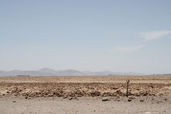 Desierto van Estacionamiento Engelse Gr Stock Fotografie