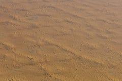 Desierto visto del avión Imagen de archivo libre de regalías