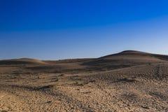 Desierto y cielo Imagen de archivo