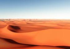 Desierto y dunas Fotos de archivo libres de regalías