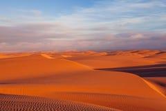 Desierto y dunas Fotografía de archivo