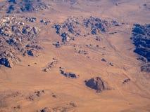 Desierto y Joshua Tree National Park de Mojave Fotografía de archivo