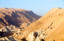 Desiertos de las montañas de Arabia. Foto de archivo
