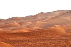 Desiertos de los UAE Fotografía de archivo