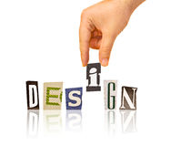 design Royaltyfri Fotografi