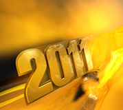 Design of 2011 Royalty Free Stock Image