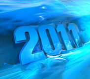Design of 2011 Stock Photography