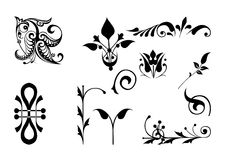 Design. Decorative elements Royalty Free Stock Photography