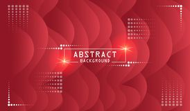 Abstrack Red Color background design
