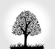 Design Abstract tree in Vector illustration Stock Photo