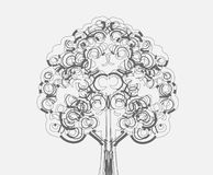 Design Abstract tree in Vector illustration Royalty Free Stock Image