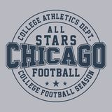 Design All-Star- Chicago Stockbilder