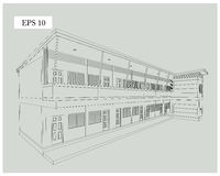 Design apartment building Stock Images