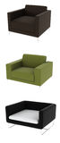 Design armchair collection Stock Photography