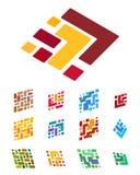 Design arrow and block element. Royalty Free Stock Photos