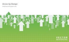 Design arrow up Stock Photo