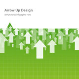 Design arrow up Royalty Free Stock Photography