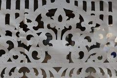 Design av bitande vitt tyg för abstrakt bakgrund Arkivbilder