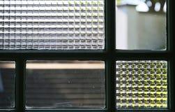 Design av fönsterrutan Arkivfoton