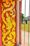 Design av fönstret av templet Royaltyfri Fotografi