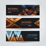 Design av svarta horisontalrengöringsdukbaner Fotografering för Bildbyråer