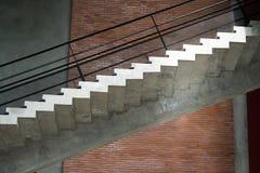 Design av trappuppgången Arkivfoto