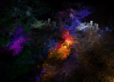 Design background abstract #19. Beautiful abstract texture and colorful Stock Photography