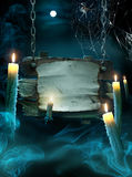 Design background for Halloween party Royalty Free Stock Image