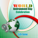 Design, background with World environment day, event Stock Photo
