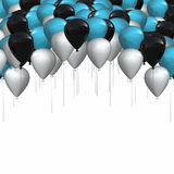 Design balloons background Stock Image